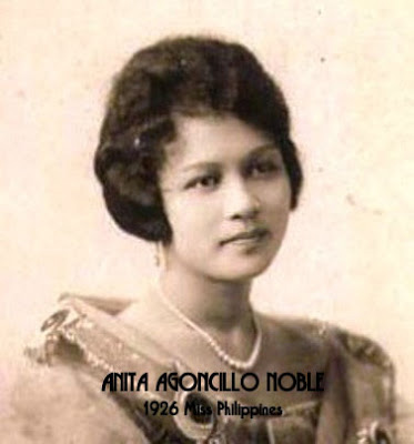 The very first Miss Philippines, 1926. (Photo courtesy of Alex R. Castro)