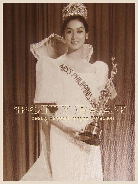 Gemma Guerrero Cruz, the first Filipino to bag a major international beauty title, as Miss International 1964. Her ancestor, Jose P. Rizal, would have been proud of his descendant. (Source: Tony Paat Beauty Queen Images Collection)