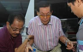 Enrile before bail