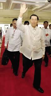Enrile after bail