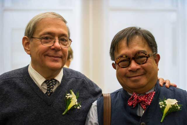 Jonathan Best and John L. Silva (Photo courtesy of John L. Silva)