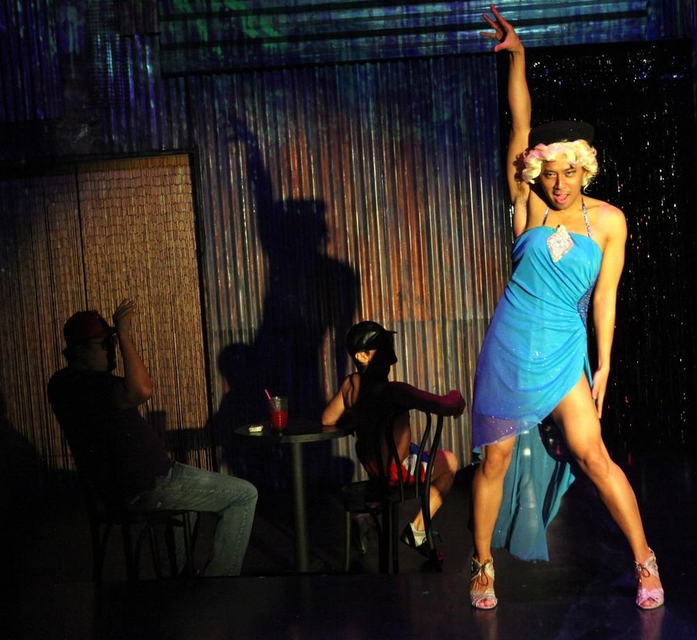 Perlita (Jomar Tagatac)at his club, Studio 54 (Photo by Jennifer Reiley)