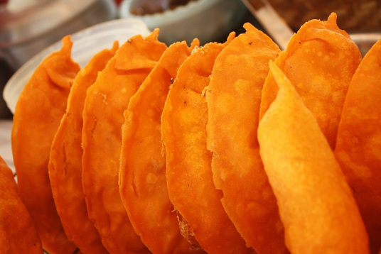 Batac empanadas (Photo courtesy of Ilocos Norte National High School)