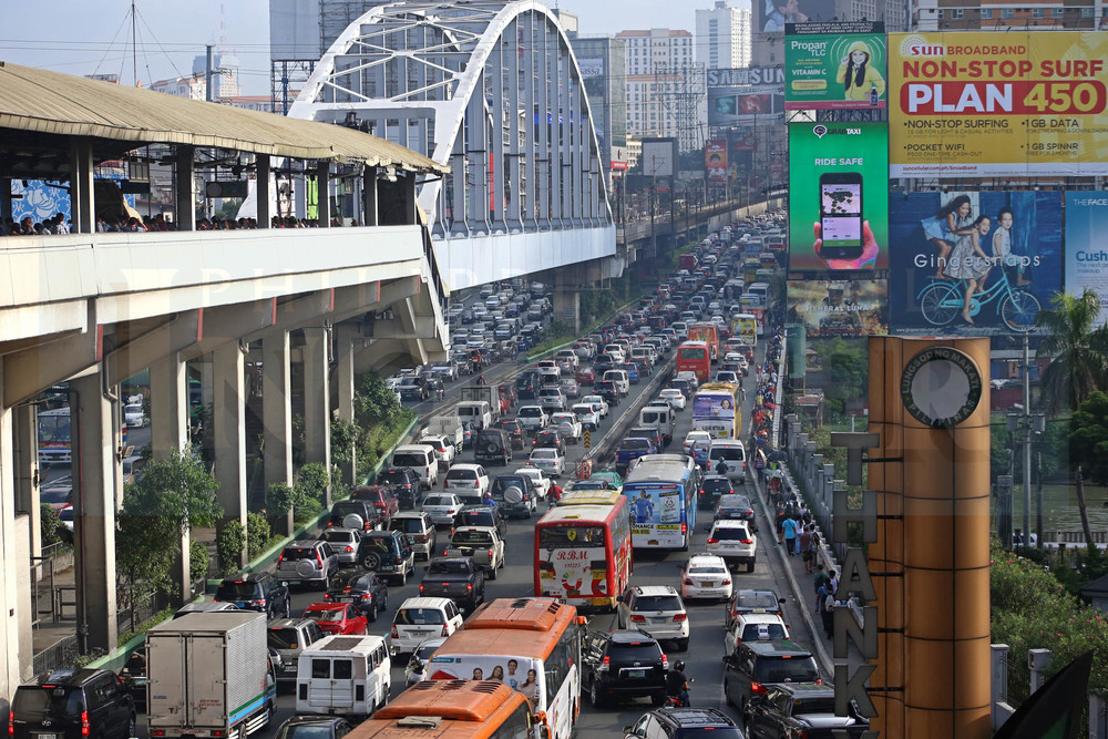 EDSA traffic (Source: Inquirer.net)