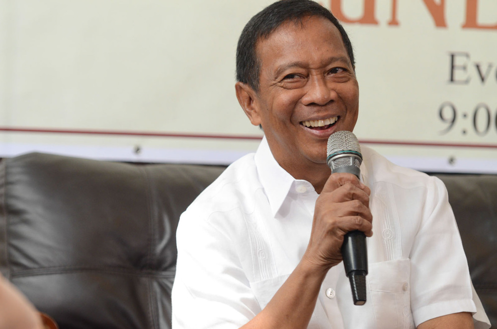 Vice President Jejomar Binay, candidate for president, United Nationalist Alliance (Source: Rappler.com/Photo by Alecs Ongcal)