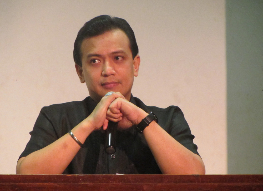 Senator Sonny Trillanes, candidate for vice president, independent (Source: trillanes.com.ph)
