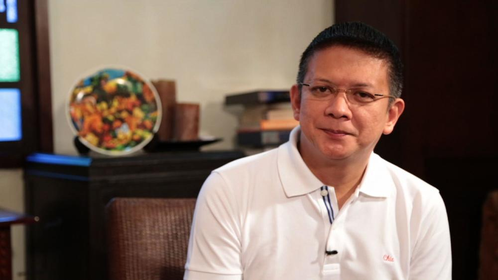 Senator Chiz Escudero, candidate for vice president, running mate of Senator Grace Poe (Source: GMA News)