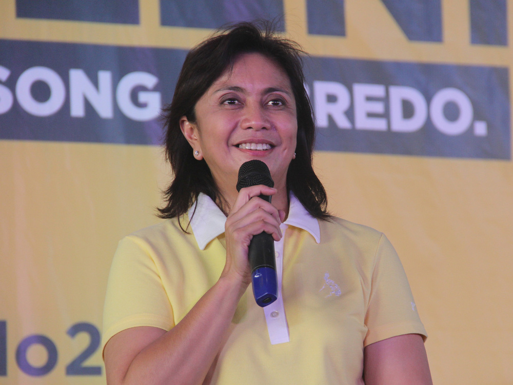 Representative Leni Robredo (Camarines Sur, 3rd district), candidate for vice president, running mate of Mar Roxas (Source: Rappler.com/Photo by Rhaydz Barcia)