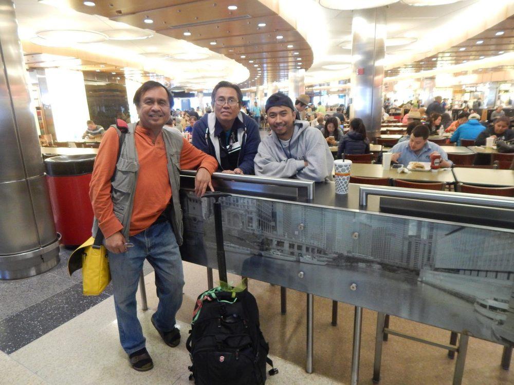 The author (L) with Bernard Martinez, and Wilfredo Quella, Jr. (Photo courtesy of Rey E. de la Cruz.Photo editing by Ivan Kevin Castro)