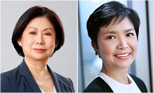 Teresita Sy-Coson and Robina Gokongwei-Pe (Source: philstar.com)