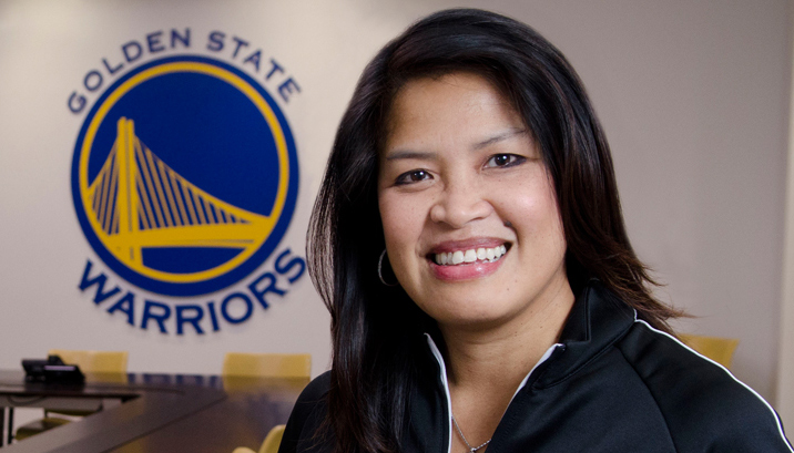 Golden State Warriors CFO Jennifer Cabalquinto (Source: ey.com)
