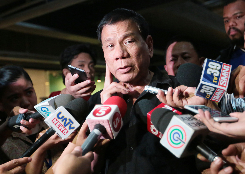 Mayor Rodrigo Duterte (Source: Inquirer.net)
