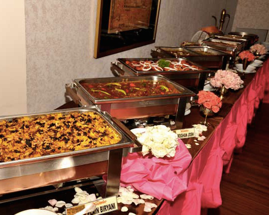 Event catered meals