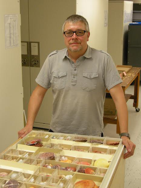 Jochen Gerber, Ph.D., of the Field Museum of National History in Chicago shared the scientific name of the gakka. (Photo courtesy of Jochen Gerber, Ph.D.)