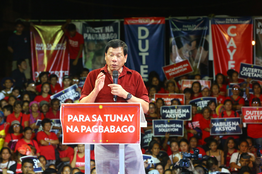 Mayor Rodrigo Duterte (Source: Rappler.com)
