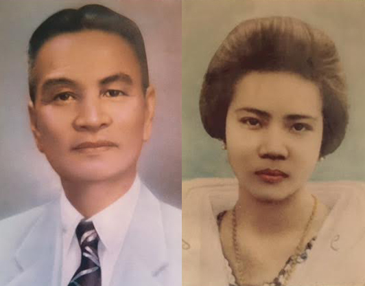 Rosa Quirino married Amadeo Eugenio who was the Provincial Treasurer of Ilocos Norte till he died in 1952. (Photo from the Felicidad Q.Eugenio Lamug family).