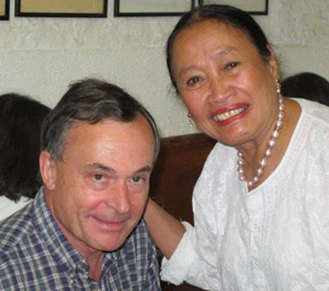 Marc and Ofeila Gelvezon-Tequi