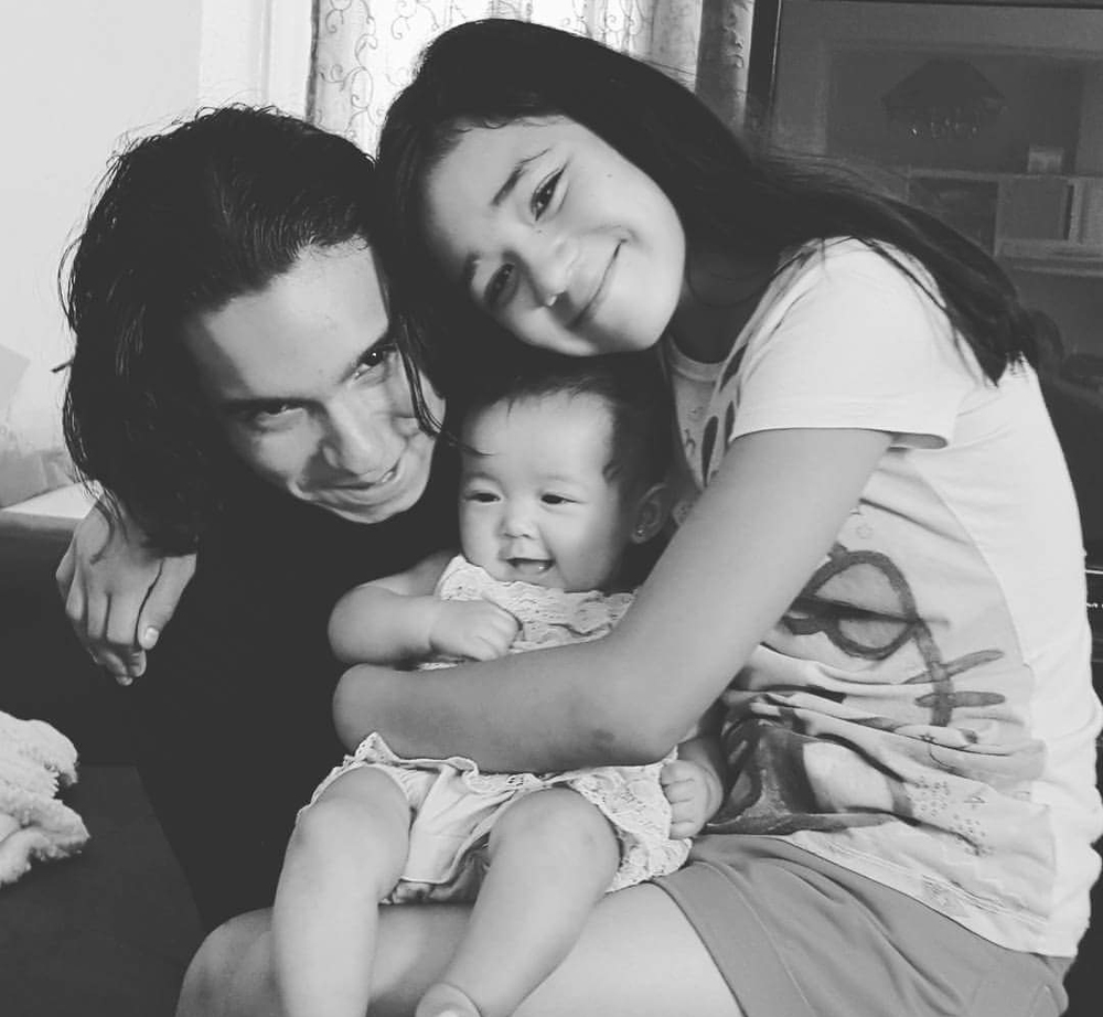 The Dario children: Jonathan, Paris Alize and Bella Skye (Photo courtesy of Dean Dario)