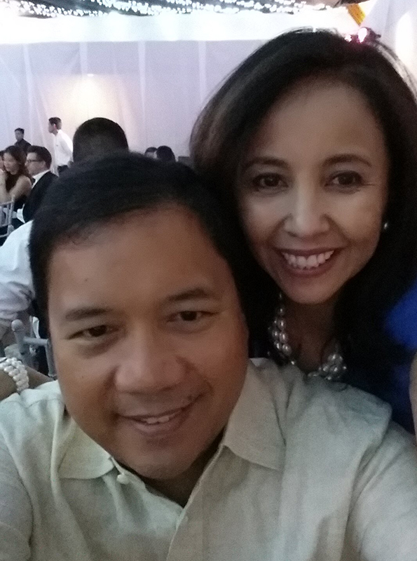 Karen with her husband Joey De Venecia III. (Photo courtesy of Karen Batungbacal)