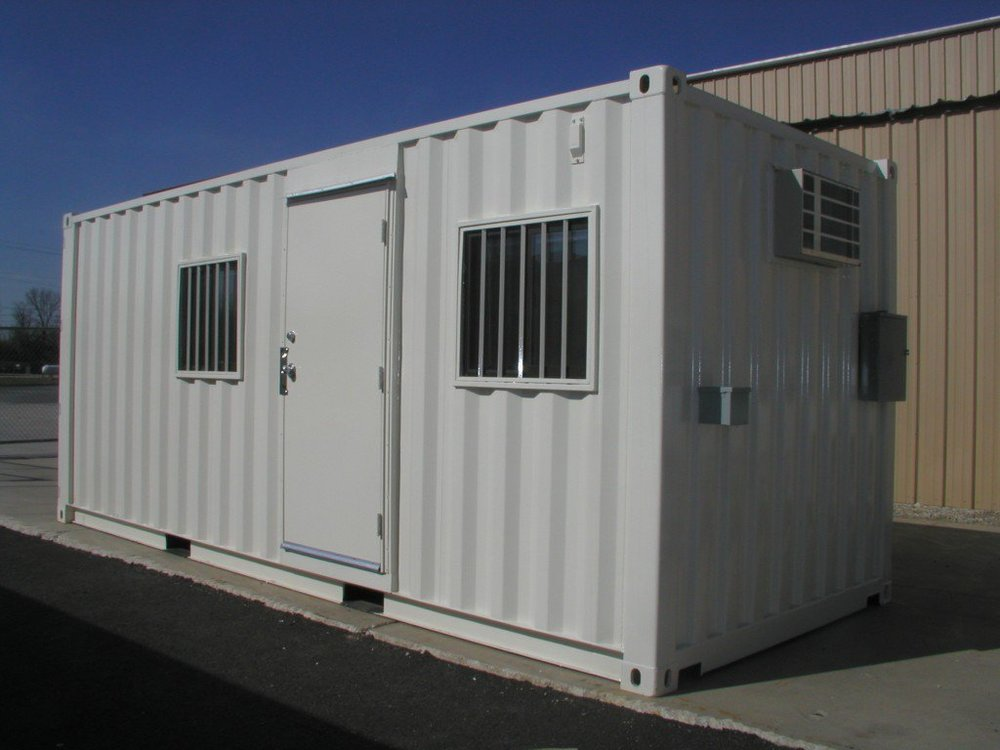 Karen worked in one of these during her first-ever paying job in APL. (Source: Container123)