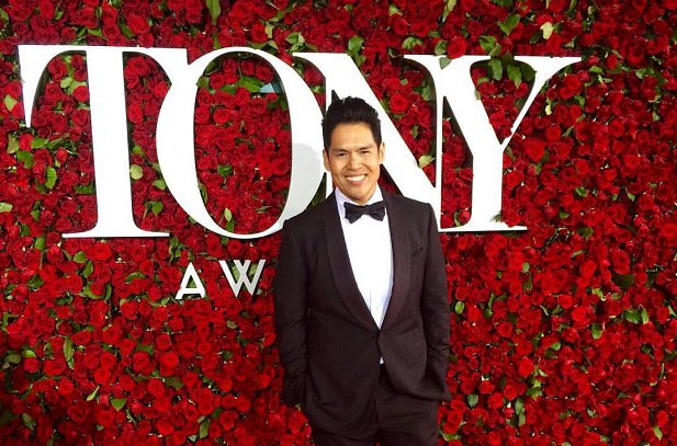 Clint Ramos at the Tonys (Source: Inquirer.net/Photo by Regina Ramos)