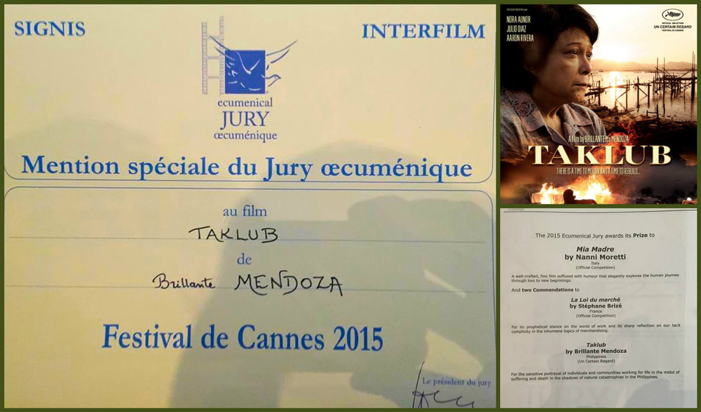Ecumenical Jury Prize (Special Mention) in the 68th Cannes Film Festival.