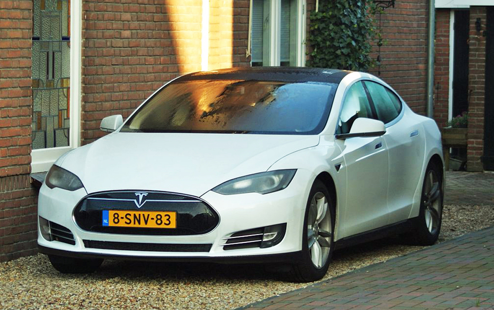 The Tesla Model S (Source: wikipedia)