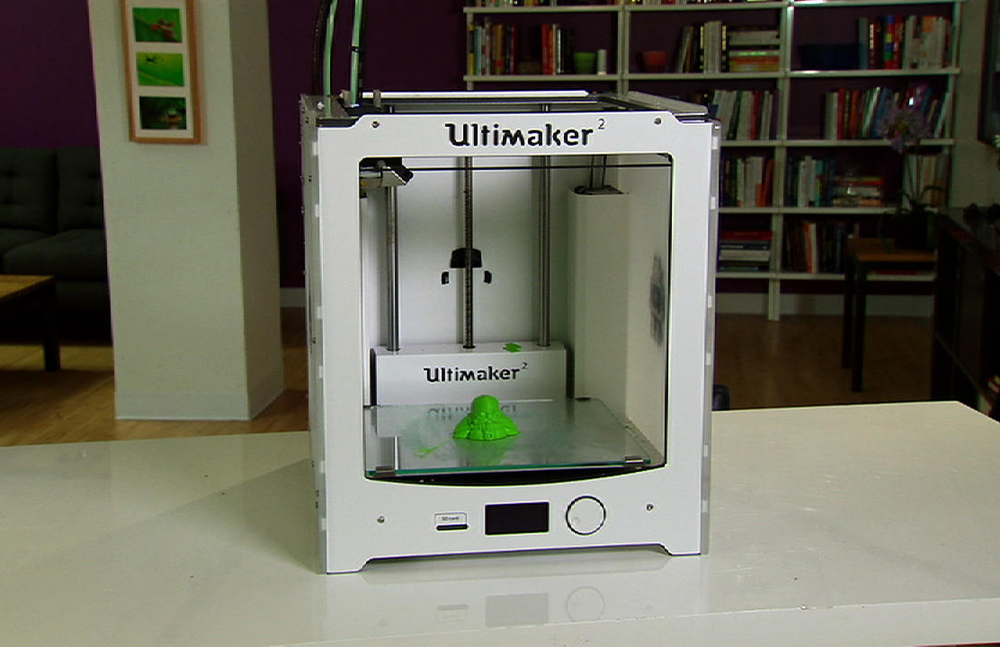A 3D Printer (Source: wikipedia)