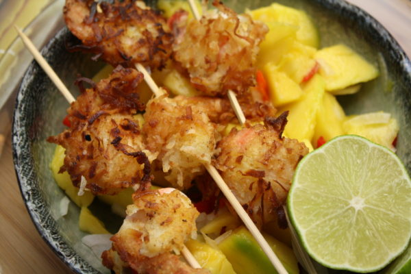 Coconut Shrimps with Mango Salsa (Photo  by Elizabeth Ann Quirino)