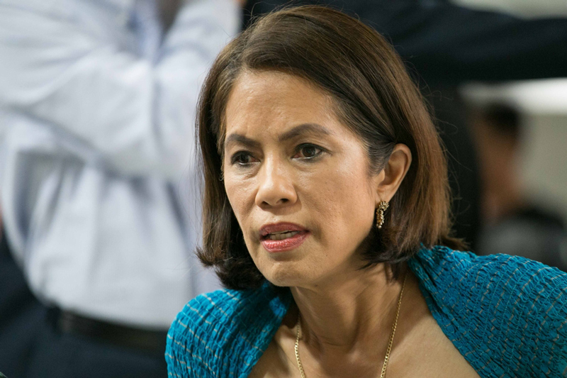 New Department of Environment and Natural Resources Secretary Gina Lopez (Source: ABS-CBN News)