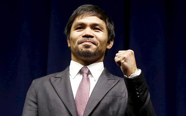 Senator Manny Pacquiao (Source: Telegraph UK)