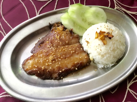 Fish Tocino (Photo by Rene Astudillo)