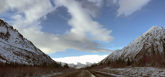 Alaska Highway - Alaska (Photo by Noni Mendoza)