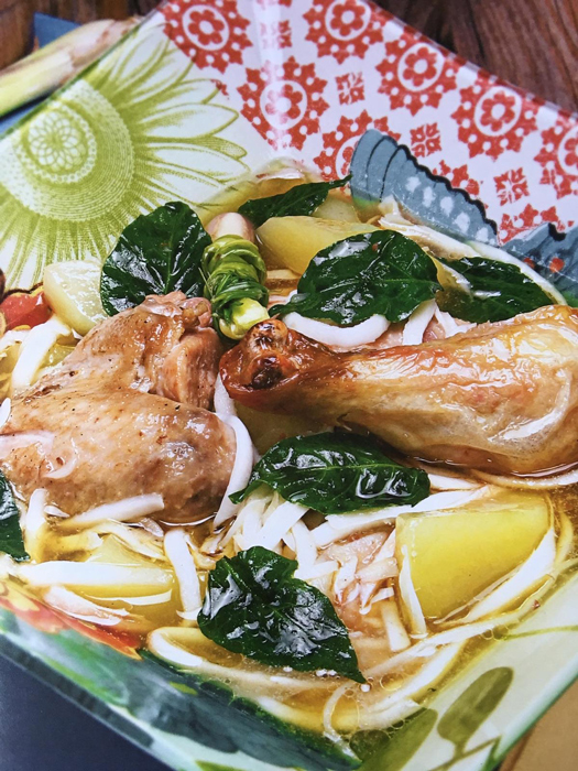 Chicken Binakol (Photo by Raymund Isaac. reposted with permission from Anvil Publishing)