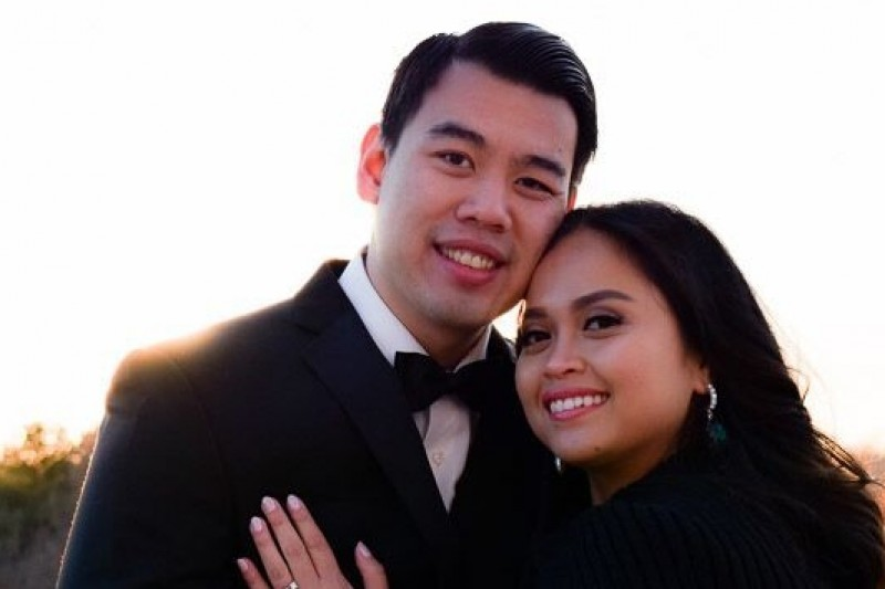 Hans Campbell and Chriselyn Bedolido (Source: gofundme.com)