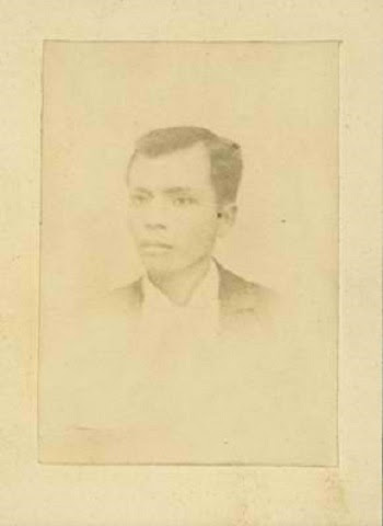The only photograph of Andres Bonifacio