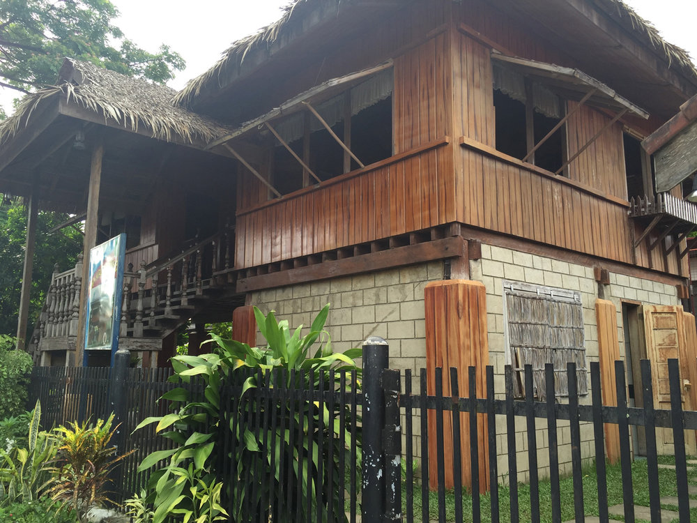 Doña Aurora Quezon's original house located in the central district. (Photo by Omar Paz)