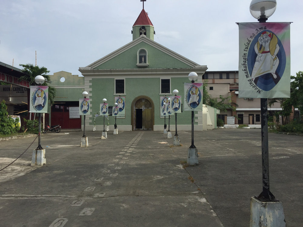 """Baler Parish Church, the site of """"Siege of Baler"""" during the 1897-98 revolt. (Photo by Omar Paz)"""