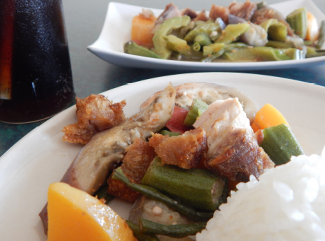 Kusinang Pinoy's Pinakbet (Photo by Ivan Kevin Castro)