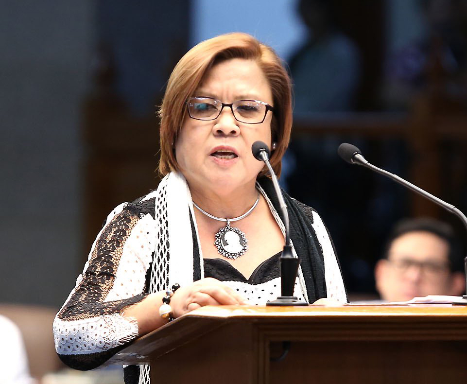 Senator Leila De Lima (Source: rappler.com)