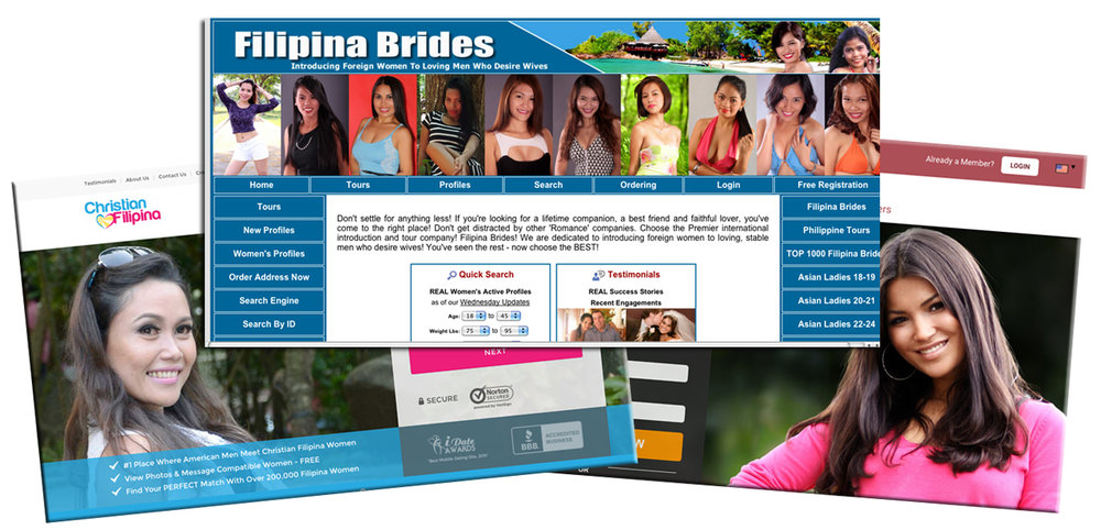 Websites which men can meet potential Filipina brides and make arrangements.