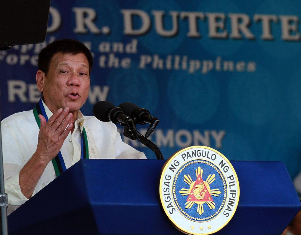 President Rodrigo Duterte (Source: Wikimedia Commons)
