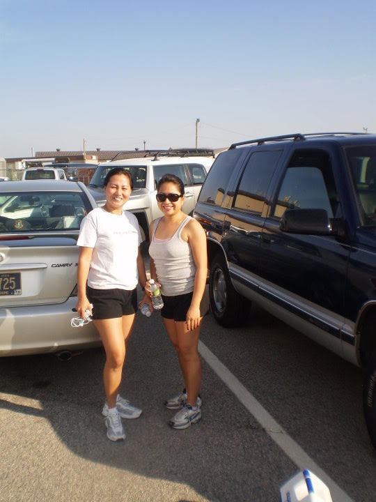 Great friend, I was in the East coast when I was diagnosed. June 2010 (Photo courtesy of Jo-Ann Agcaoili)