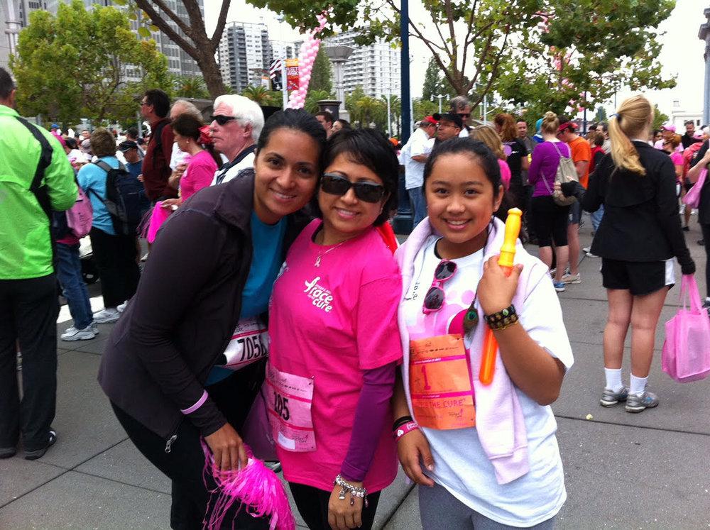 2011 Susan G Komen Race for the Cure (Photo courtesy of Jo-Ann Agcaoili)