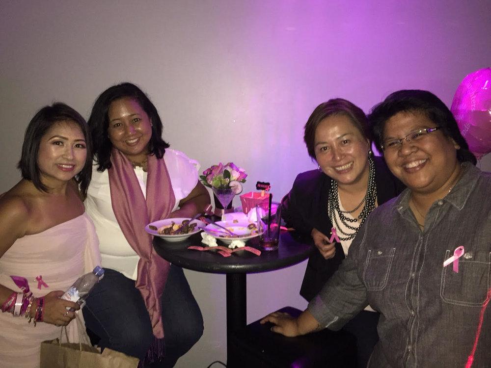 Pink Party to raise awareness 2015 (Photo courtesy of Jo-Ann Agcaoili)