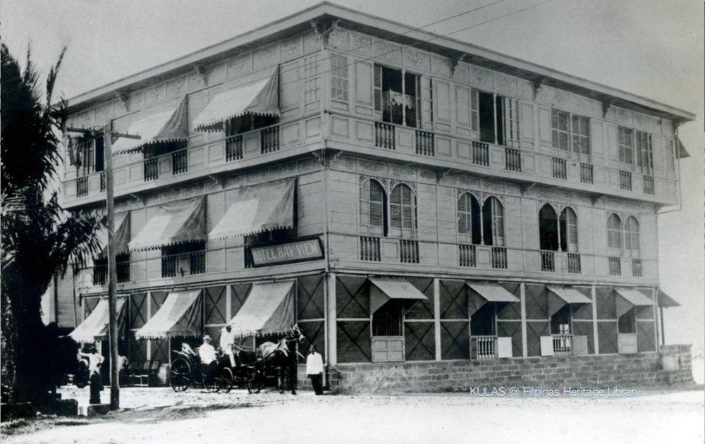 Original Bayview Hotel-1903 (courtesy of N. Torrontegui)