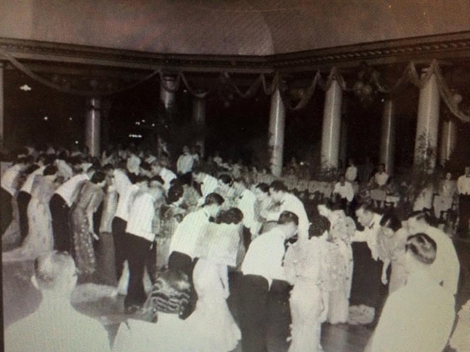 Rigodon de honor-1934 (Photo courtesy of Isidra Reyes)