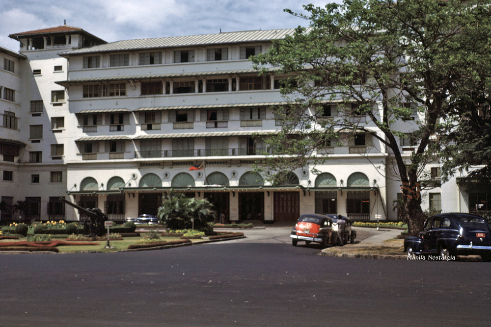 Completely restored, the Manila Hotel glistened once again – 1948