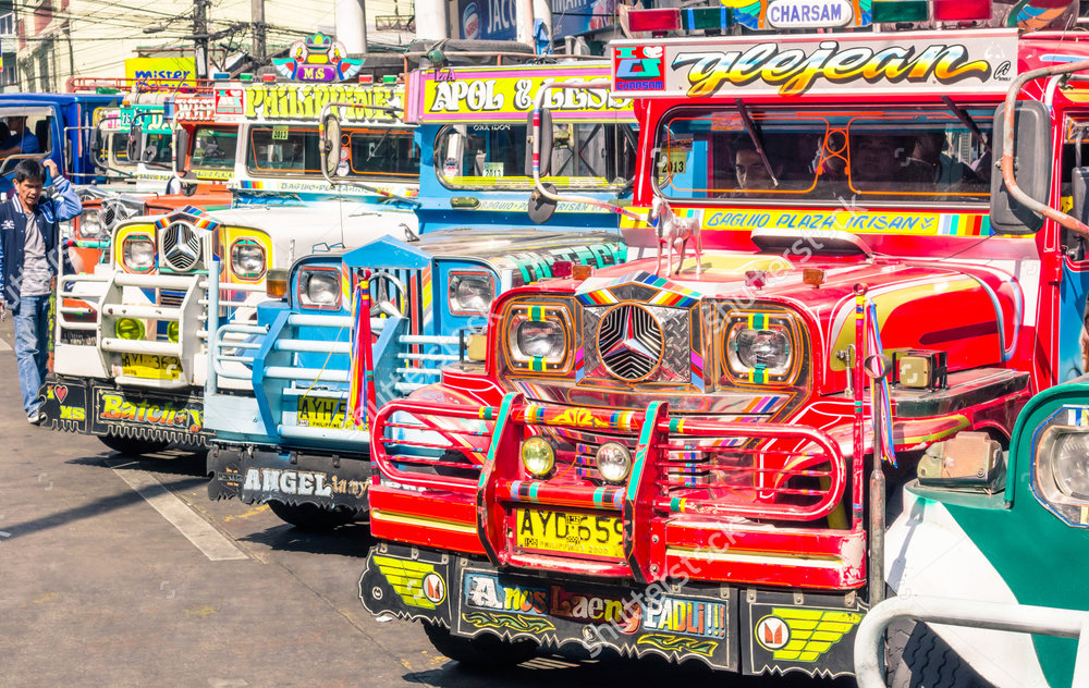 The Philippine Jeepney (Source: Shutterstock.com)