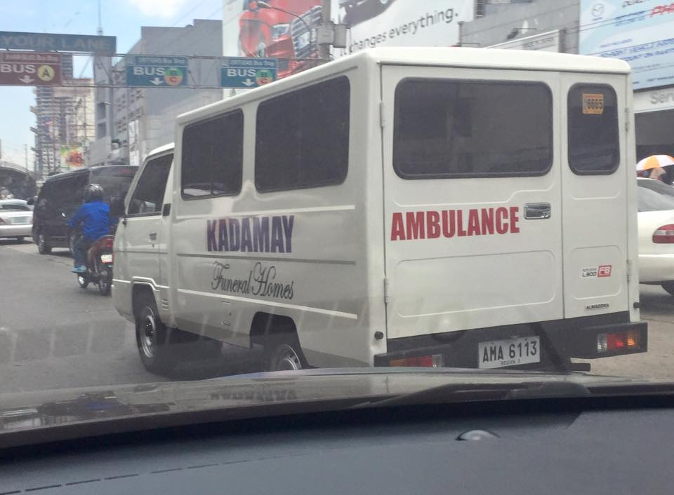 Kadamay Ambulance and Funeral Homes (Source: Nicky Jorge)